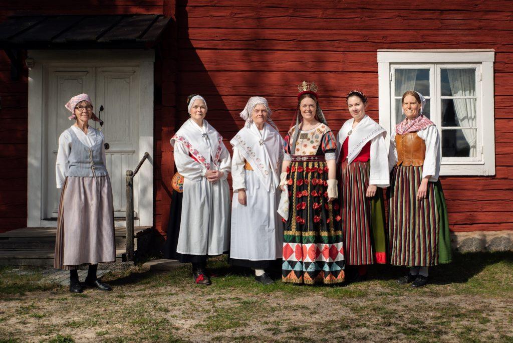 Brudklänning från Vånga